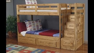 Bunk Bed Plans/loft Bed Plans Step By Step - How To Build A Bunk Bed/loft Bed Plans