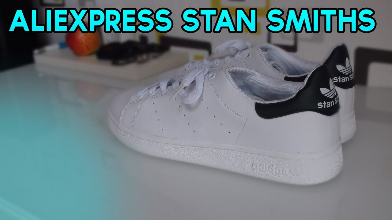Aliexpress Adidas Stan Smith White/Black Shoe Review + on Feet (With Links)