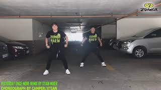 Zumba Retro Style Hiphop-YESTERDAY ONCE MORE REMIX