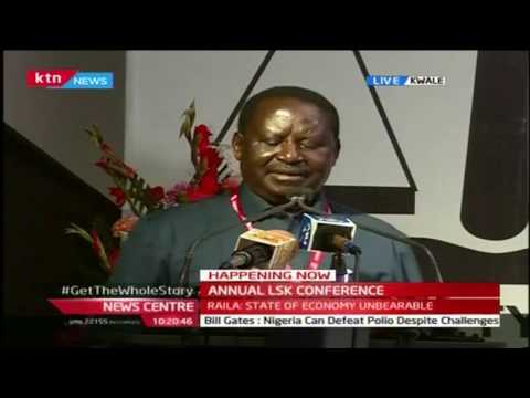 """The High Priest of Corruption is nurturing the hustler culture in Kenya,"" Raila Odinga"