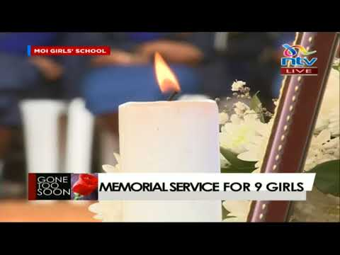 Moi Girls principal gives a heartfelt speech at the memorial service of departed students