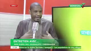 Pape Djibril Fall décortique l'actualité (Affaire commissaire Sankharé, situation au PDS)