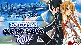 20 Cosas que NO sabias sobre KIRITO | Sword Art Online (SAO) thumbnail