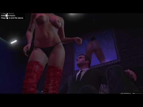 GTA V Private Dance Striptease Scene With Michael