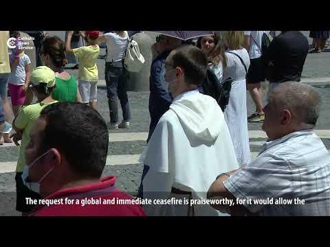 Pope praises U.N. call for global ceasefire