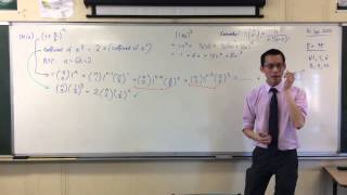 Binomial Coefficients Proof Question