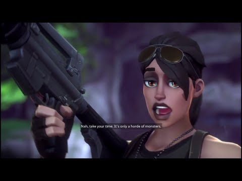 Fortnite: Save the World- EP.1 The Commander