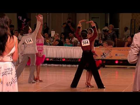 2012 Desert Classic Junior I Latin Final  Ballroom Dance Kids