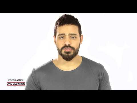 JOSEPH ATTIEH supporting ONE LEBANON