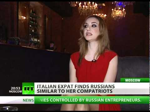 Italian PR guru gets caught up in Moscow's charm