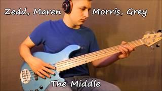 Zedd, Maren Morris, Grey - The Middle (Solo Bass Arrangement with Tabs)