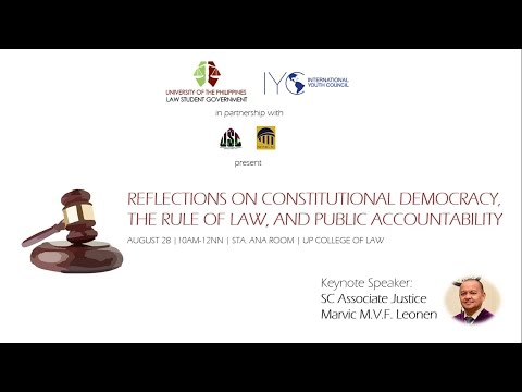 Reflections on Constitutional Democracy, the Rule of Law, and Public Accountability