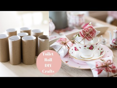 Recycled Toilet Roll Craft Ideas | DIY my rubbish!
