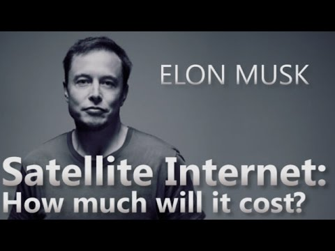 Elon Musk on: How Much Will Satellite Internet Cost?