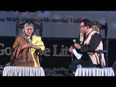 Jaya Bachchan at Tata Steel Kolkata Literary Meet 2015 -- Part 2