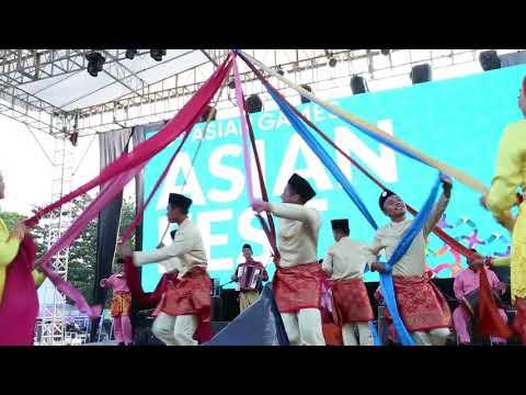 Gordang Sambilan Menggemparkan Palembang Asian Games 2018