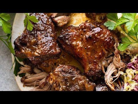 Brown Sugar Garlic Butter Roast Pork