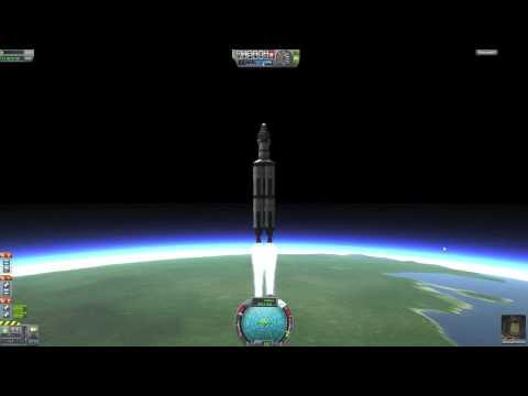 KSP 0.18 Tutorial #1 Orbiting The Easy Way