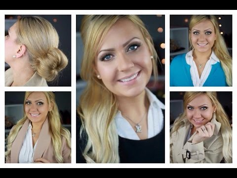WORK MAKEUP, HAIR AND FASHION IDEAS - TIPS TO LOOK PROFESSIONAL IN THE WORK PLACE