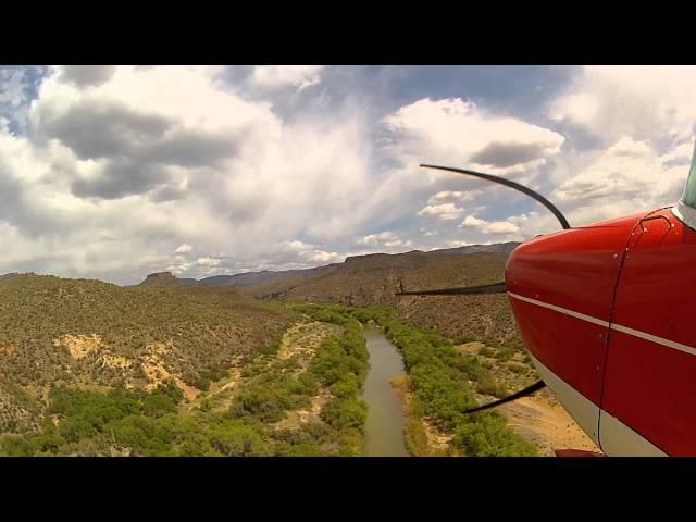 Challenging Arizona Airstrips - Takeoff Red Creek Airstrip
