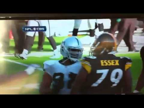 Richard Seymour Punches Ben Roethlisberger, Gets Ejected [HD]