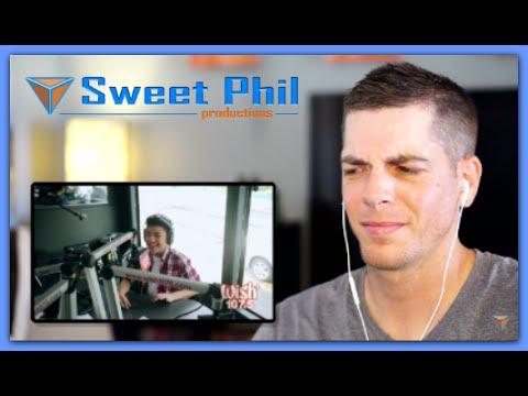 Darren Espanto Reaction | Chandelier (Sia) LIVE Cover on Wish FM 107.5 Bus HD