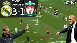 Real Madrid 3-1 Liverpool: Tactical Analysis|  Zidane's INGENIOUS Substituion that won it for Madrid