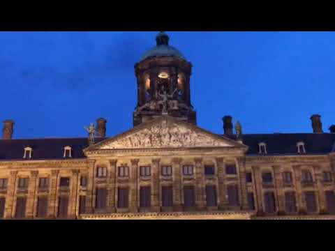 Dam Square and the Royal Palace of Amsterdam