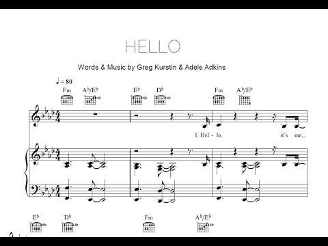 Piano piano chords adele hello : Piano : piano chords hello adele Piano Chords Hello also Piano ...