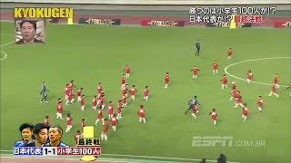 100 юных футболистов пытаются обыграть 3-ех профессионалов. Футбол.