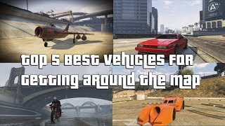 GTA Online Top 5 Best Vehicles For Getting Around The Map Fast