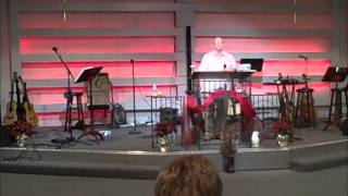 "Ray Vester sings ""Merry Little Christmas"" at Grace New Covenant Ministries Columbus, OH Dec 13,2015"