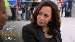 Holly and Dolores Meet with Sen. Kamala Harris | For Peete's Sake | Oprah Winfrey Network