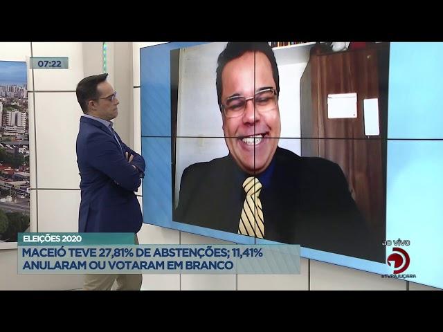 Eleições 2020: Maceió teve 27,81% de abstenções