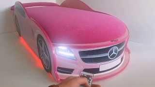 Mersedes pink   avto-krovatka.ru(Кровати-машинки с дизайном современных авто. Доставка по всей России. Оплата после получения. Заходите..., 2014-07-01T20:53:48.000Z)