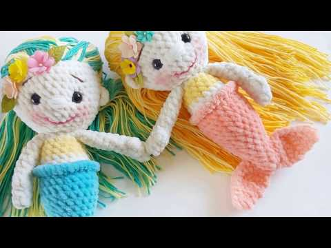 Amigurumi Mermaid doll Free crochet pattern
