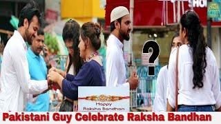 Pakistani Guy Celebrate Raksha Bandhan - Social Experiment In India| By TCI