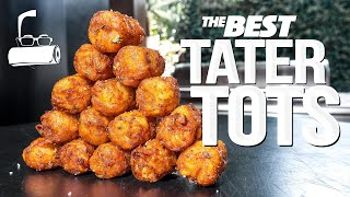 THE BEST HOMEMADE ṪATER TOTS (WOW!)   SAM THE COOKING GUY