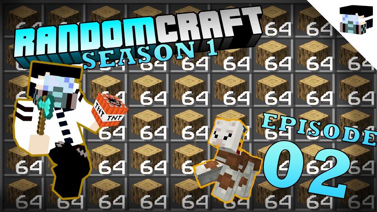 Download Minecraft - Randomcraft Season 1 Episode 2 : Tree Farm and Base Cleaning