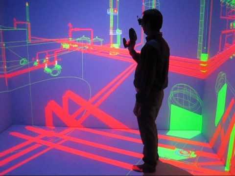CAVE Virtual Reality Setup