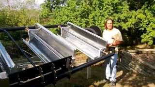 Parabolic Trough Solar Collector Water Heater 6