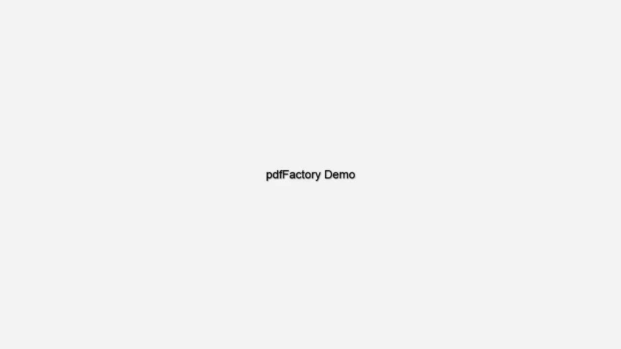 pdfFactory | FinePrint