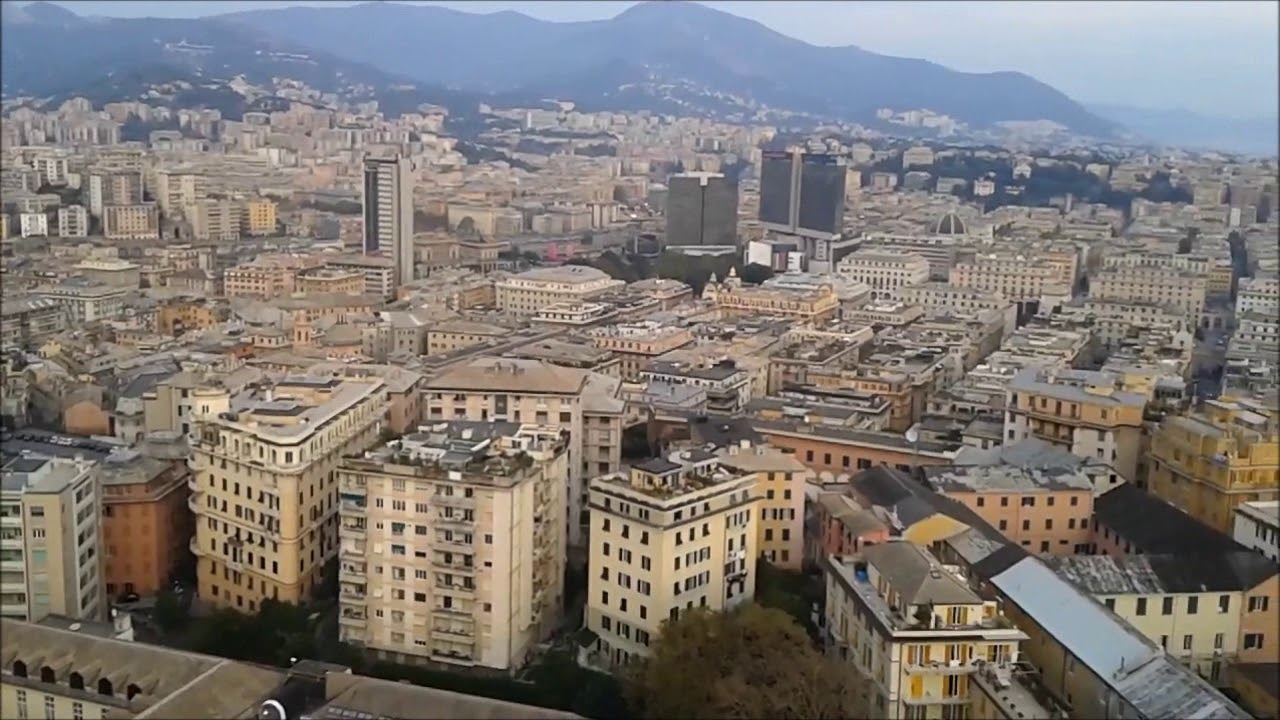 TERRAZZA COLOMBO : GENOVA - YouTube