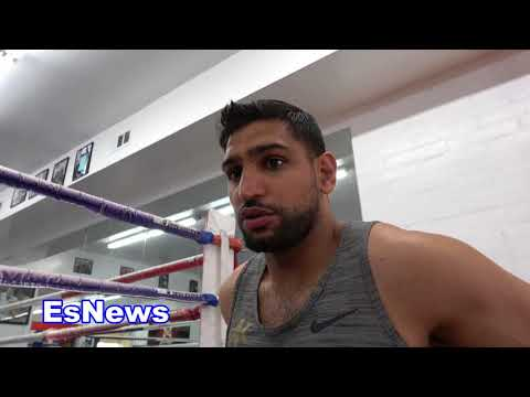 Amir Khan Meets 50 Cent Reveals What 50 Cent Told Him About Fighting Adrien Broner