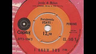 Julie Driscoll - I know you - Capitol Turkey RnB Soul Beat 45 Jools & Brian Auger