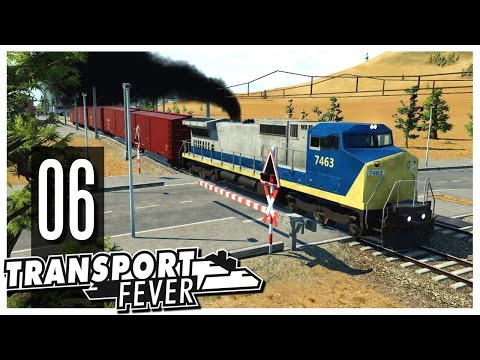 Transport Fever - Ep.06 : Freight Trains!