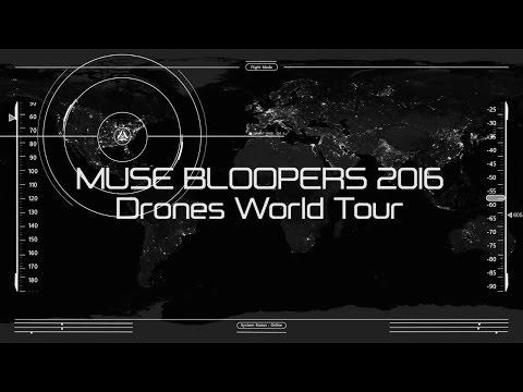 Muse - Bloopers/Funny moments 2016 (Drones World Tour)