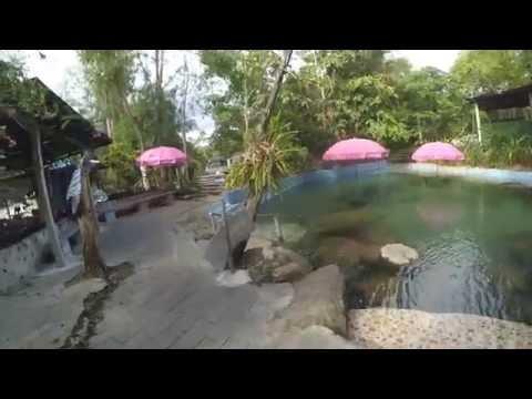 ธารน้ำร้อนบ่อคลึง น้ำพุร้อน สวนผึ้ง ราชบุรี สถานที่ท่องเที่ยวสวนผึ้ง