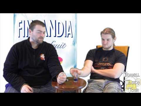 Finlandia Grapefruit Flavored Vodka Liquor Review (Helsinki, Finland)