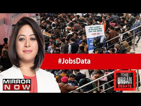 Unemployment at 45-Year high, How Serious Is The Jobs Crisis? | The Urban Debate With Faye D'Souza